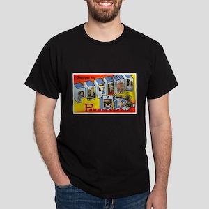 Pocono Mts Pennsylvania (Front) Dark T-Shirt