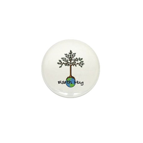 Earth Hug Mini Button