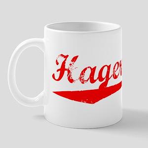 Vintage Hagerstown (Red) Mug