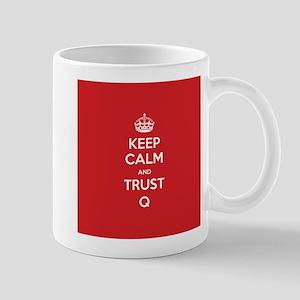 Trust Q 11 oz Ceramic Mug
