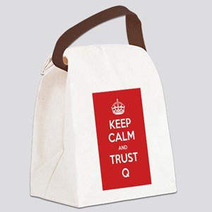 Trust Q Canvas Lunch Bag