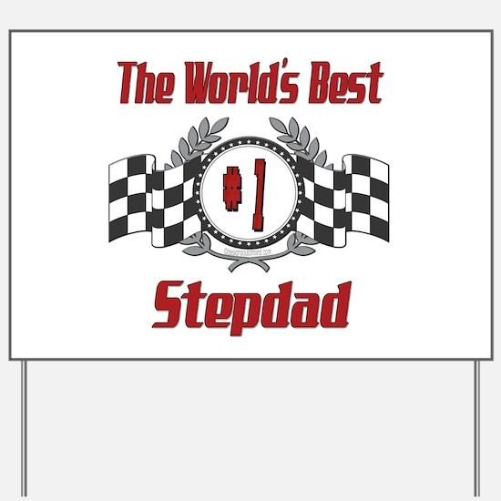Racing Stepdad Yard Sign