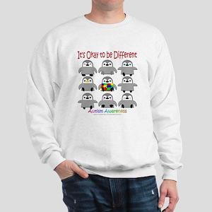 Autism Awareness Penguins Sweatshirt