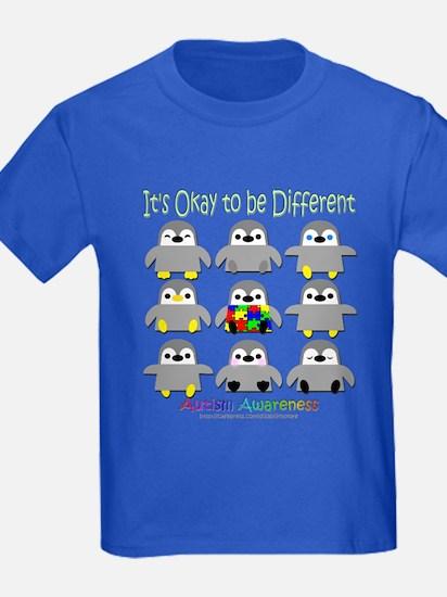 Autism Awareness Penguins T