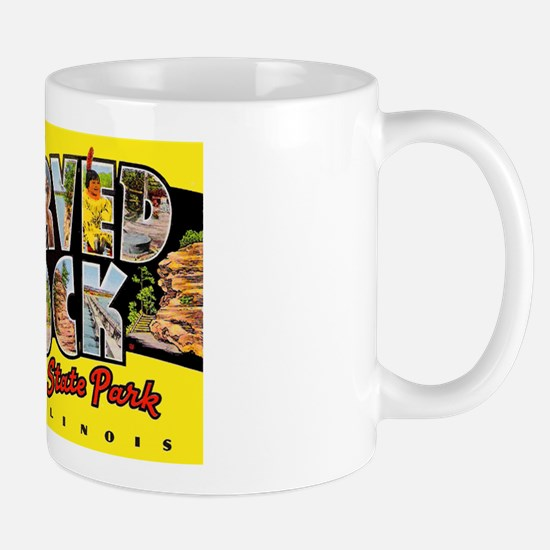 Starved Rock Park Illinois Mug