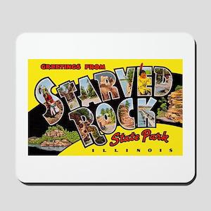 Starved Rock Park Illinois Mousepad