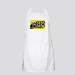 Starved Rock Park Illinois BBQ Apron