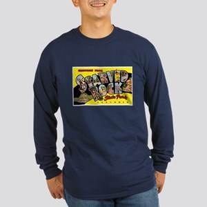 Starved Rock Park Illinois (Front) Long Sleeve Dar
