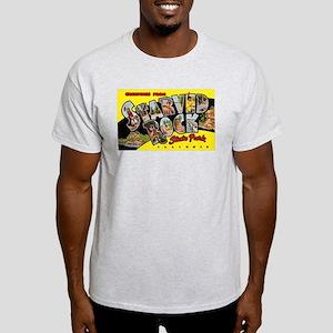 Starved Rock Park Illinois (Front) Light T-Shirt