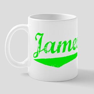 Vintage Jamestown (Green) Mug