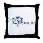 Dancerina Throw Pillow