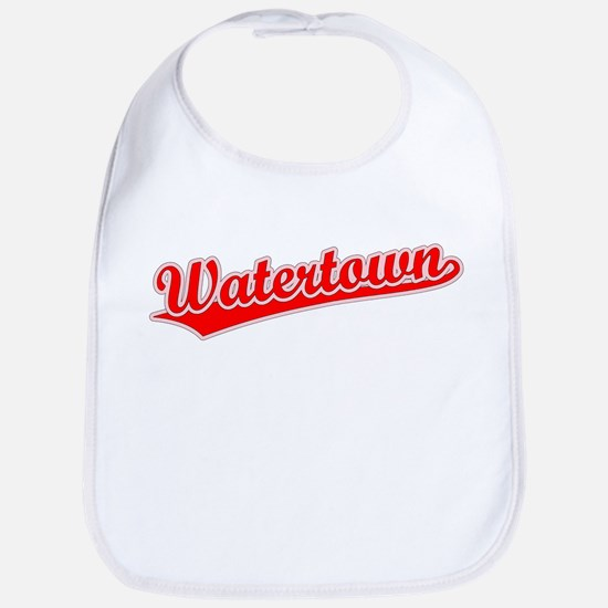 Retro Watertown (Red) Bib
