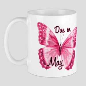 Due May Sparkle Butterfly Mug