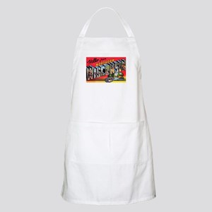 Northern Wisconsin Greetings BBQ Apron