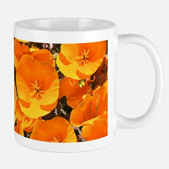 Helaine's California Poppies Mug