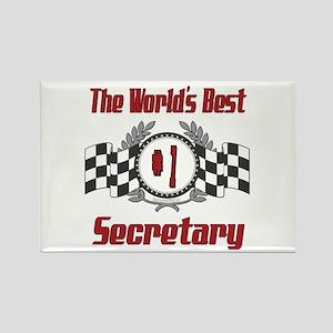 Racing Secretary Rectangle Magnet