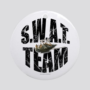 S.W.A.T. Team... Ornament (Round)