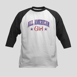 ALL AMERICAN GIRL Kids Baseball Jersey
