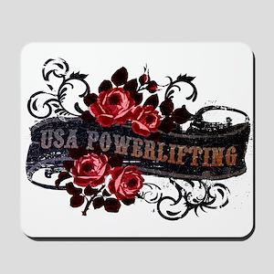 WOMEN'S POWERLIFTING Mousepad