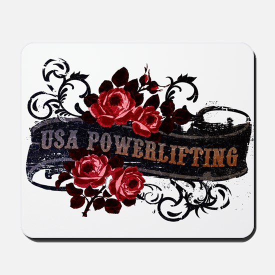 WOMEN'S POWERLIFTING Mousepad