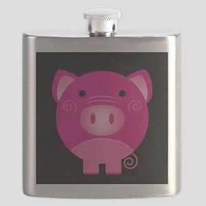 Pink Pig Flask