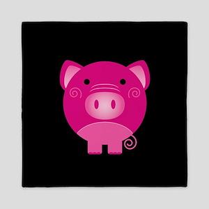 Pink Pig Queen Duvet