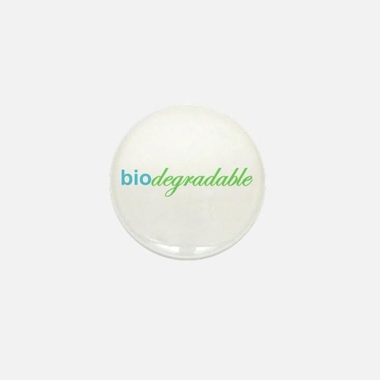 Biodegradable Mini Button