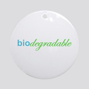 Biodegradable Ornament (Round)