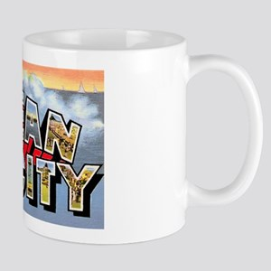 Ocean City Maryland Greetings Mug