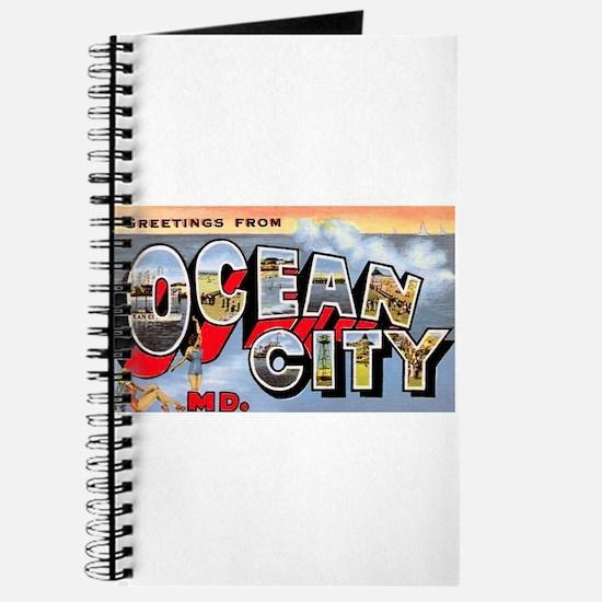 Ocean City Maryland Greetings Journal
