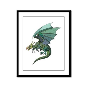 On Magical Wings Framed Panel Print
