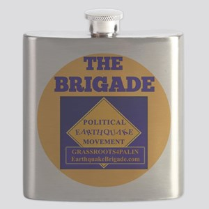 Brigade button Flask
