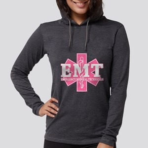 Star of Life EMT - pink Long Sleeve T-Shirt