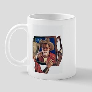 Shaving Cowboy Mug