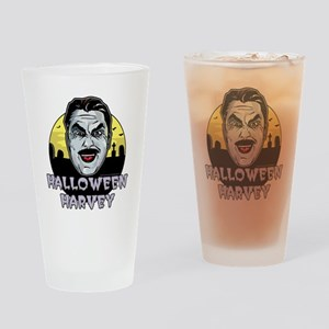 Halloween Harvey Drinking Glass