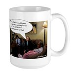 Large Mug - Hillary Clinton is Black?