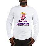 Captain Corruption Pledge Long Sleeve T-Shirt