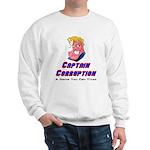 Captain Corruption Pledge Sweatshirt