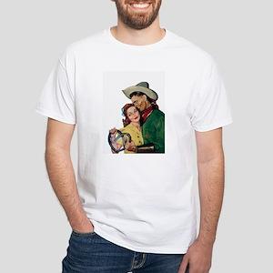 Loving Cowboy White T-Shirt