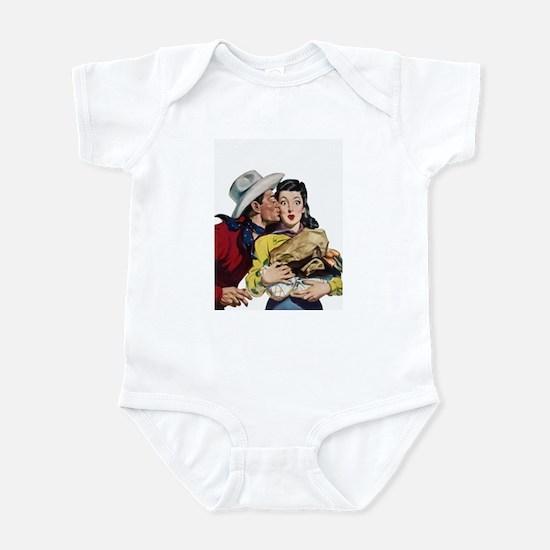 Kissing Cowboy Infant Bodysuit