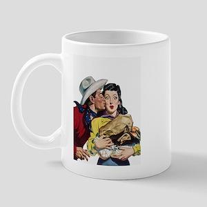 Kissing Cowboy Mug