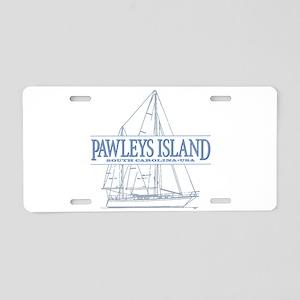 Pawleys Island Aluminum License Plate