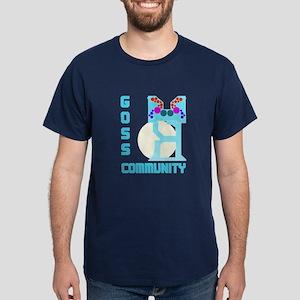 Dark T-Shirt-GOSS COMMUNITY UNIT