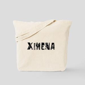 Ximena Faded (Black) Tote Bag