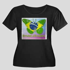 Borboleta Brasileira Women's Plus Size Scoop Neck