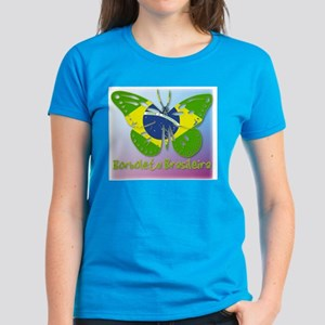 Borboleta Brasileira Women's Dark T-Shirt