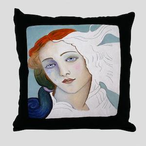 BIRTH OF VENUS Throw Pillow
