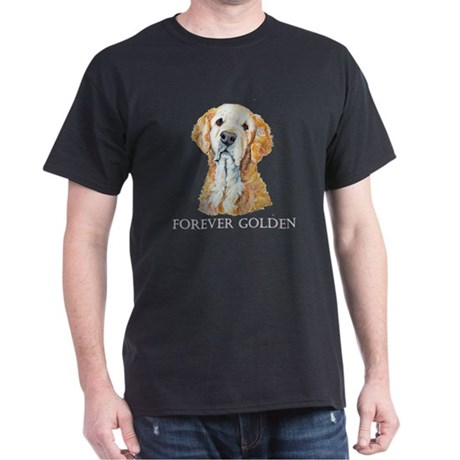 Golden Retrievers Hunting Dog Dark T-Shirt