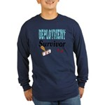 Deployment Survivor x1 Long Sleeve Dark T-Shirt