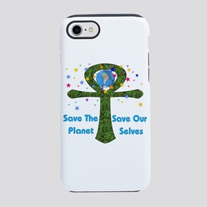 Save The Planet Ankh' iPhone 8/7 Tough Case